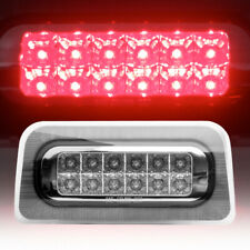 For 1994-2003 Chevy S10/Gmc Sonoma Led 3Rd Third Tail Brake Light/Lamp Red Clear (Fits: Isuzu)