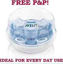 Philips Avent Microwave Bottle Steriliser Natural Steam Newborn Care Baby Stuff