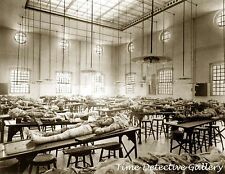 The Dissecting Room at Jefferson Medical School - 1902 - Historic Photo Print