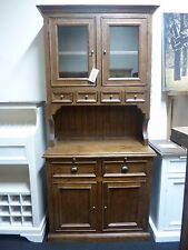 New Tall Dark Reclaimed Wood Display Unit Dresser Cabinet *Furniture Store*