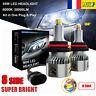8 côté 360° 110W 30000LM 9005 HB3 Voiture LED Phare Ampoule Feux Kit Blanc 6000K