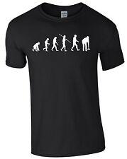 Eisstockschießen Evolution Eisstock Stock Stockschießen Laufplatt T-Shirt  hbs43