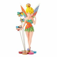 DISNEY BRITTO - TINKER BELL ON FLOWER - BRAND NEW - BOXED - 4058182