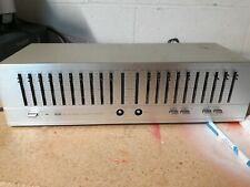 Vintage Bsr Eq-110X Stereo Frequency Equalizer Working Condition