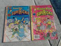 Richie Rich Harvey Comic Book Lot of 5