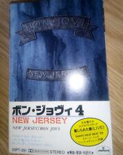 Bon Jovi - New Jersey Cassette Rare Japanese Tape