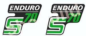 Aufkleber Simson S70 ENDURO