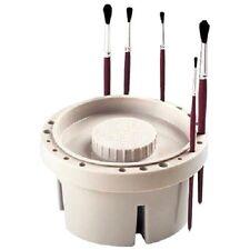 Jakar Artist Paint Brush Tub Holder Bath Round Storage + Lid Washer Cleaner Pot
