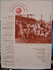 Autographed 10/20/94 Baseball Reunion Poster: Memphis Red Sox (Negro League)