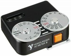 Voigtlander VC Meter II Black Light Meter 4530076640047 330342 90.7g