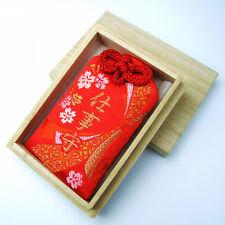 JAPANESE OMAMORI SHIRASAKI Charm Good luck success that works RED