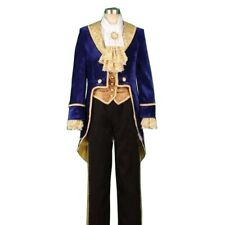 Beauty and the Beast Adult Costumes Prince Adam Cosplay Clothes Men Clothes Suit