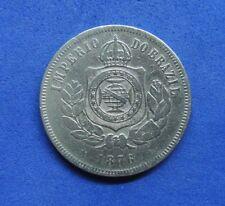 LB) Brazil Brasil -  200 Reis 1876 KM#478  NICE COIN