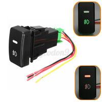 Car Push Button Fog Light Switch Control 5 Pins For Honda Civic Accord CRV US