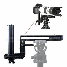 Long-Zoom Lens Bracket Support Camera Quick Release Plate for Tripod Ball Head