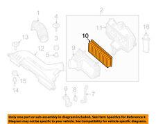 NISSAN OEM 07-13 Altima Engine-Air Cleaner Filter Element 16546JA00B