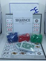 Vintage Sequence Card Game Strategy Board Game Jax 1995 Complete