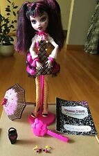 Mattel Monster High Draculara Forbitten Love Doll With Accessories,book.nice Toy