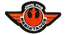 Star Wars - Join the Resistance - Uniform Patch Kostüm Aufnäher - neu
