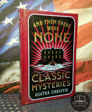 NEW SEALED And Then There Were None & Other Agatha Christie Bonded Leather