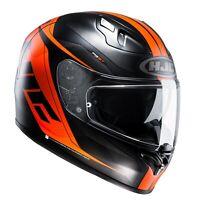 HJC FG-ST Crono Black Orange Full Face Motorcycle Helmet Crash Helmet NEW