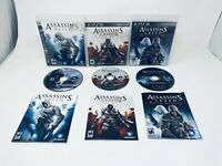Assassins Creed 3 Game Lot (Playstation 3   PS3) 2-3 & Revelations