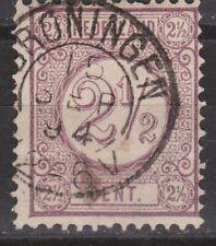 NVPH Netherlands Nederland nr 33 TOP CANCEL GRONINGEN Cijfer 1876