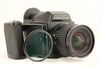 【 NEAR MINT 】 PENTAX 645 + SMC A 45mm f/2.8 Lens + 120 Film Back from JAPAN
