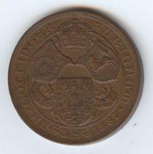 Exonumia University of Ga Augusta Medal (#1318) 1505h Anniv. 1737-1887. 33Mm.