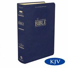 Platinum Remnant Study Bible KJV (Plat Blue Leather) KJV