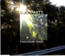 BLOC PARTY   Two More Years   2 TRACK CD   NEW - NOT SEALED