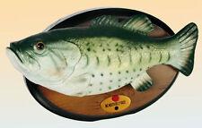 BIG MOUTH BILLY BASS Singing Fish singender Fisch Neu
