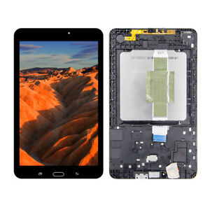 LCD Touch Screen Digitizer  Frame For Samsung Galaxy Tab E 8.0 SM-T377 T378
