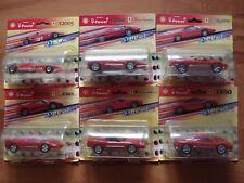 **NEW** 6 x 2006 Hot Wheels Shell V-Power Ferrari Pull Back 1:38 Ltd Collection