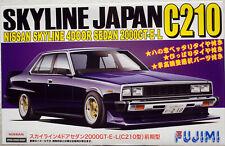 Fujimi 038643 1977 Nissan Skyline 2000 GT E 4door Sedan C210 JDM 1:24 Bausatz