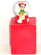 Disney Mickey Mouse Mini Snowglobe Penneys Christmas Black Friday Giveaway 2006