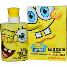 Spongebob Square Pants by Nickelodeon 3.4 oz EDT Cologne for Men New In Box