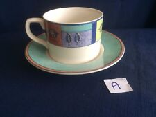 Royal Doulton Everyday Trailfinder tea cup & saucer(second- rim paint flaw) A