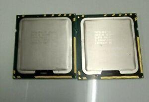 Matching Pair Intel Xeon X5680 3.33GHz 6 Core SLBV5 Processor Socket LGA1366 CPU