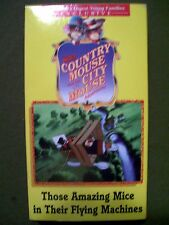 3 Reader's Digest Country Mouse and the City Mouse Adventures (1997, VHS)