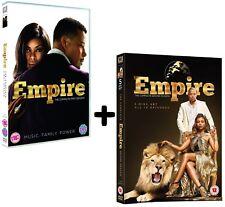 EMPIRE 1+2 (2015-2016) Music, Family, Power TV Season Series  NEW Rg2 DVD not US