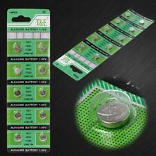 Watch alkaline button battery AG1 1.55V 364 SR621SW LR621 621 LR60 CX60 10PCS