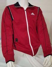 Adidas Sweatshirt Pullover NWT Zip Zipper Coat Men Logo Coat Casual Classic Red