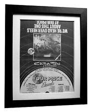 COCTEAU TWINS+Head Over Heels+POSTER+AD+ORIGINAL 1983+FRAMED+FAST GLOBAL SHIP