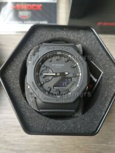 Casio G-shock Casioak Triple Black Watch GA2100-1A1 Brand New  Free Shipping