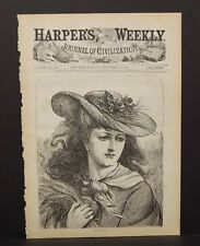 Harper's Weekly Cover Autum 1874 A10#34