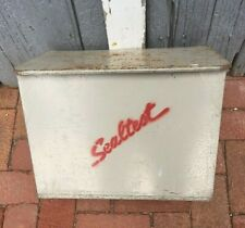 Vintage Sealtest Deerfoot Farms Milk Delivery Insulated Box