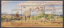 Australien - Michel-Nr. Block 15 gestempelt/o vom Ersttag (Prähistorische Tiere)