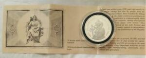 Iceland Scarce 1986 Lower Mintage Sterling Silver Proof 500 K  Free USA Shipping