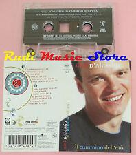 MC GIGI D'ALESSIO Il cammino dell'eta' 2001 italy RCA 74321840924 cd lp dvd vhs*